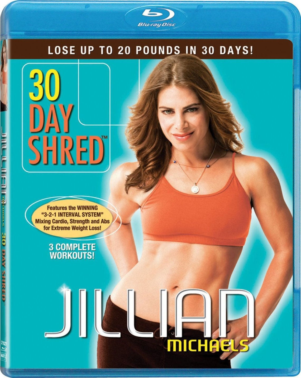 Jillian Michaels: 30 Day Shred (Blu-ray Disc)