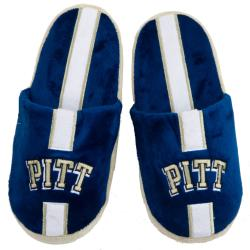 Pittsburgh Panthers Striped Slide Slippers - Thumbnail 1