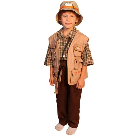 Dress Up America Boy's 5-piece Fisherman Costume