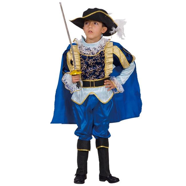 Dress Up America Boy's 5-piece Noble Knight Costume (Blue...