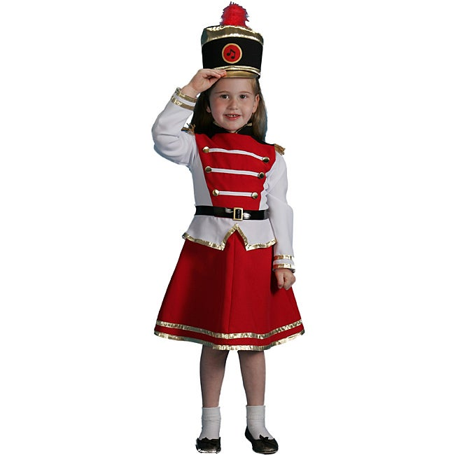 Dress Up America Girlu0026#x27;s 3-piece Drum Majorette Costume  sc 1 st  Overstock.com & Shop Dress Up America Girlu0027s 3-piece Drum Majorette Costume - Free ...