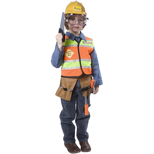 Dress America Boys Construction Worker Costume