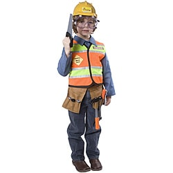 Dress Up America Boys' Construction Worker Costume