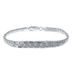Sterling Essentials Sterling Silver 7-inch Bracelet