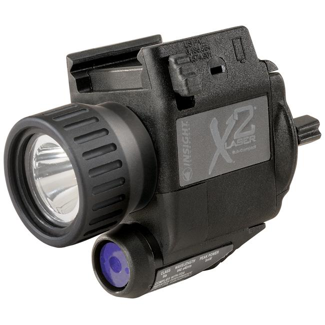 Insight X2L LED Subcompact Weapon-mounted Tactical Light/ Laser