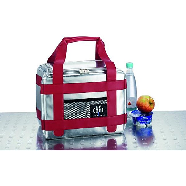 Red Vanilla Be Cool Red Medium Sport Lunch Box