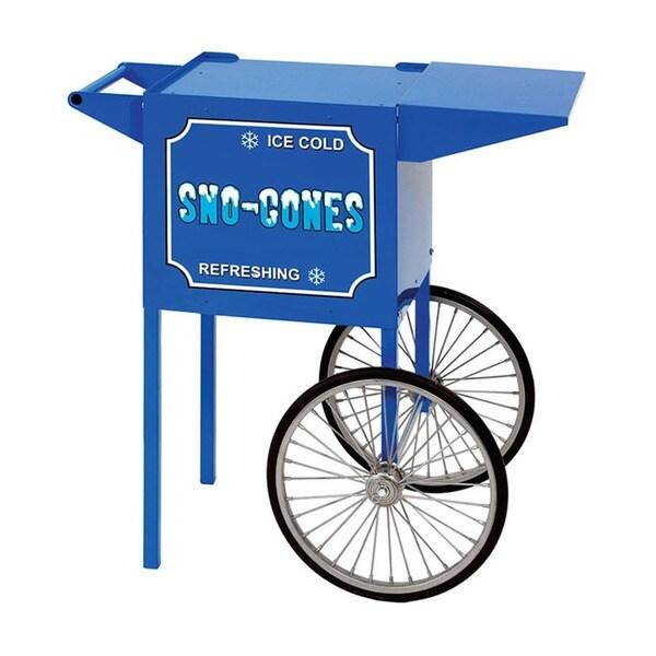 Paragon Blue Small Snow Cone Cart