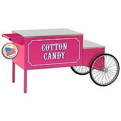 Paragon Pink Cotton Candy Cart
