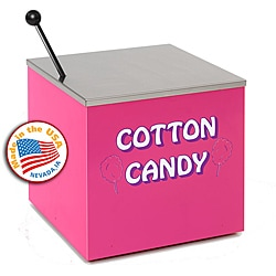 Paragon Pink Cotton Candy Rolling Stand - Thumbnail 0