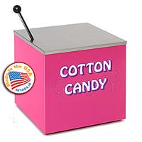 Paragon Pink Cotton Candy Rolling Stand