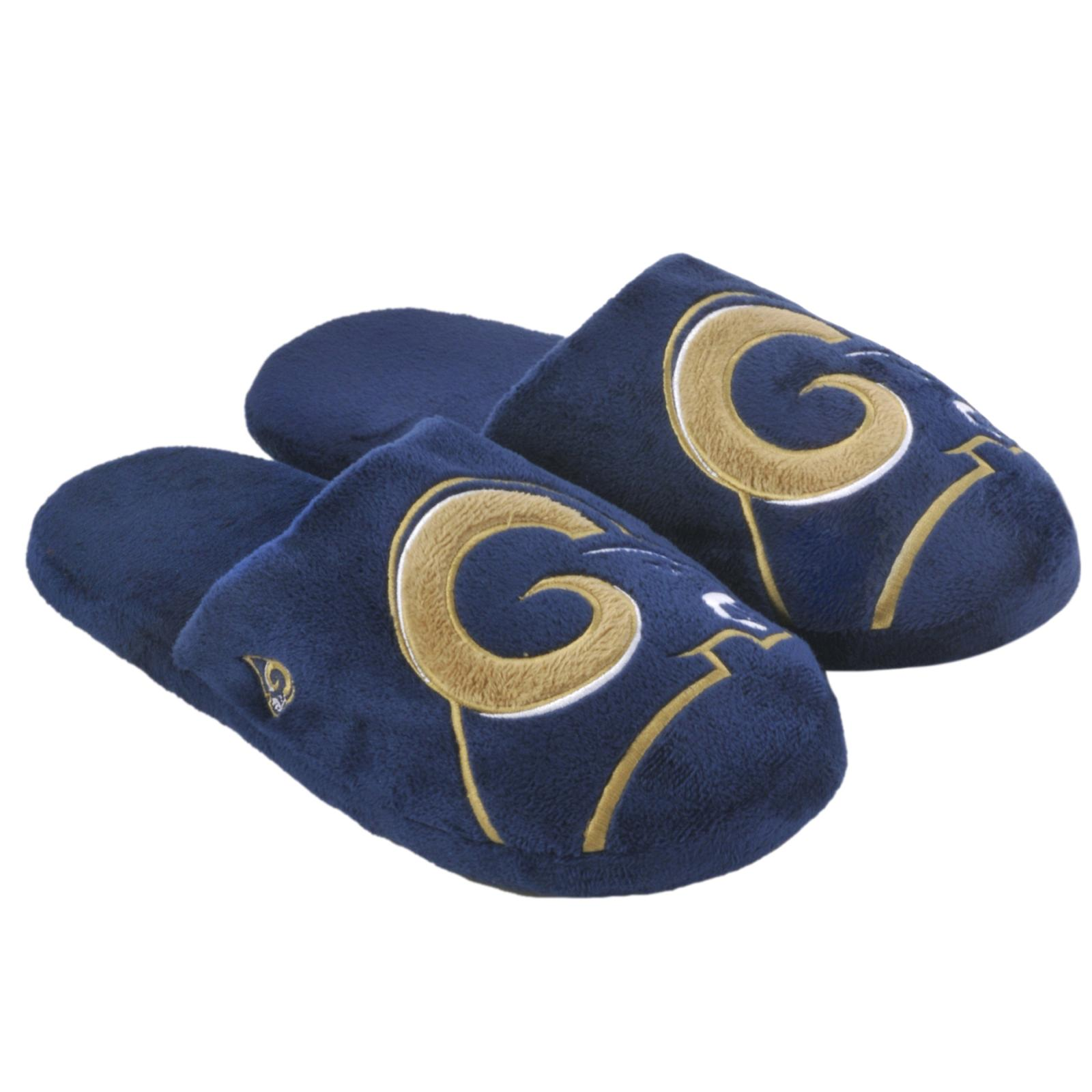 NFL St. Louis Rams Big Logo Slippers - Thumbnail 0