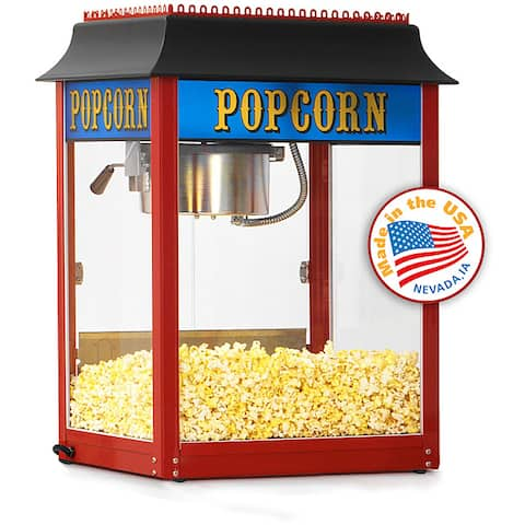 Paragon 1911 8-oz Red Popcorn Machine