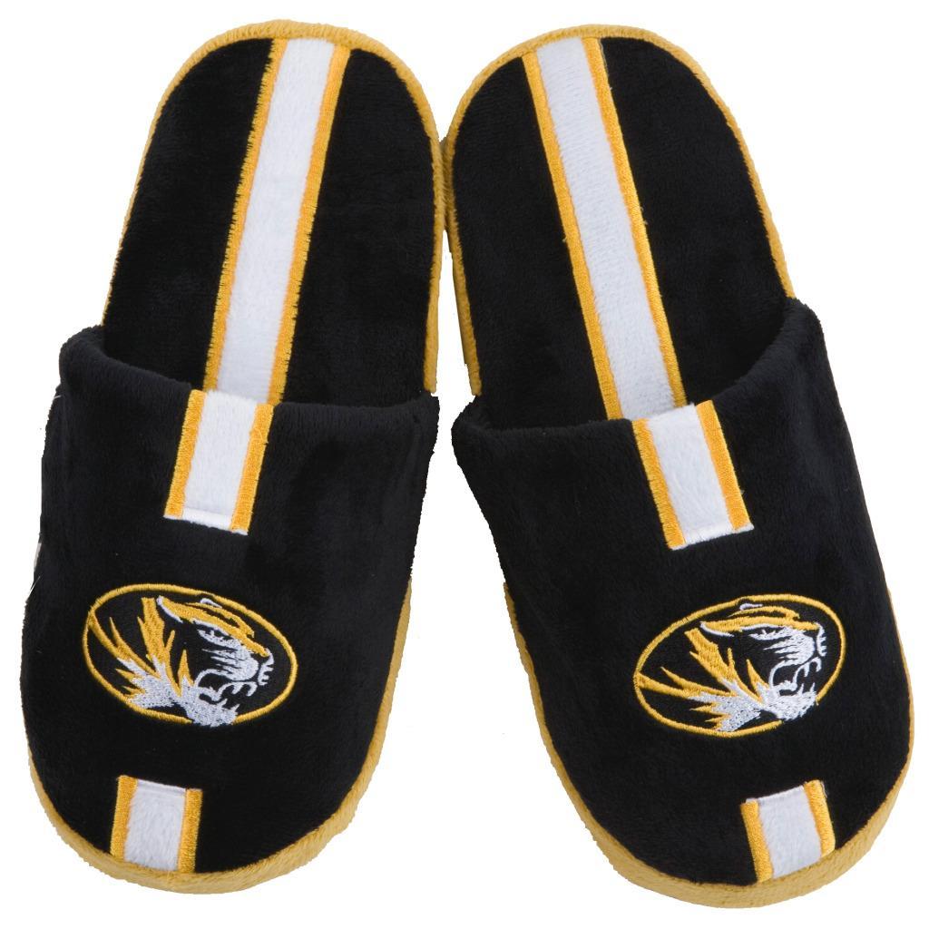 NCAA Missouri Tigers Striped Slide Slippers
