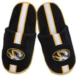 NCAA Missouri Tigers Striped Slide Slippers - Thumbnail 1