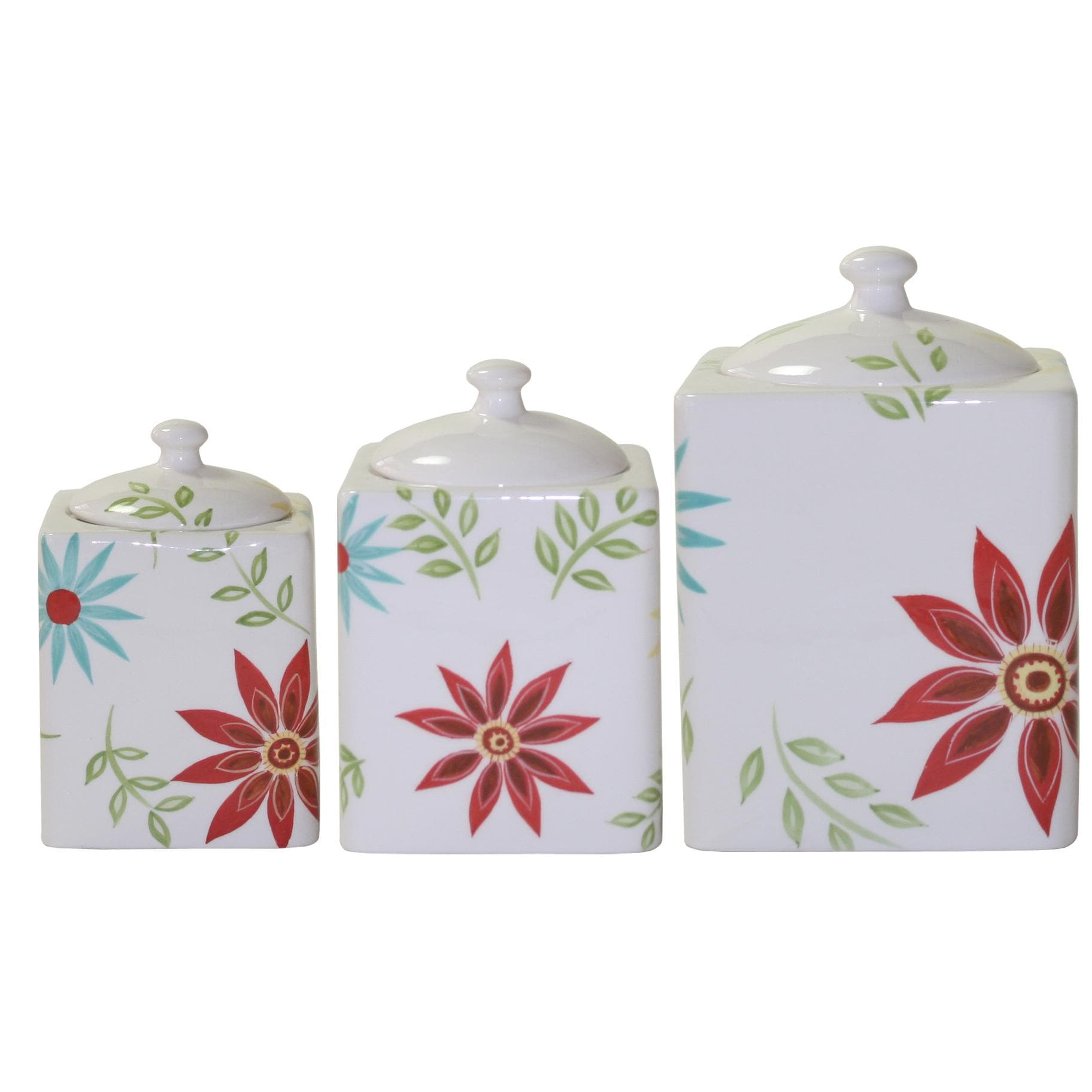 Corelle 'Happy Days' 3-piece Canister Set - Free Shipping
