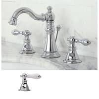 Kingston Brass American Patriot Chrone Brass Widespread Bathroom Faucet