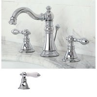 Classic Widespread Polished Chrome Bathroom Faucet - Free Shipping ...