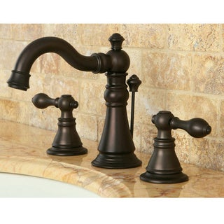 American Patriot Oil Rubbed Bronze Widespread Bathroom Faucet