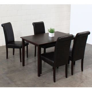Warehouse of Tiffany 5-piece Black Dining Furniture Set|https://ak1.ostkcdn.com/images/products/5533370/P13310603.jpg?impolicy=medium