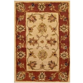 Handmade Herat Oriental Indo Mahal Wool Rug (India) - 2' x 3'