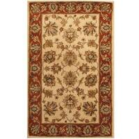Herat Oriental Indo Hand-tufted Mahal Wool Rug (3'3 x 5'3) - 3'3 x 5'3