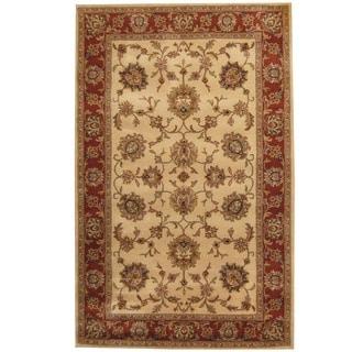 Herat Oriental Indo Hand-tufted Mahal Wool Rug (5' x 8')
