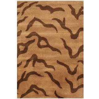 Handmade Tibetan Wool Rug (India) - 2' x 3'