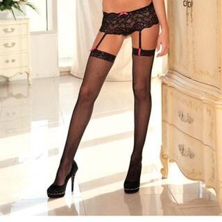 Rene Rofe Sexy Crotchless Lace Boyleg