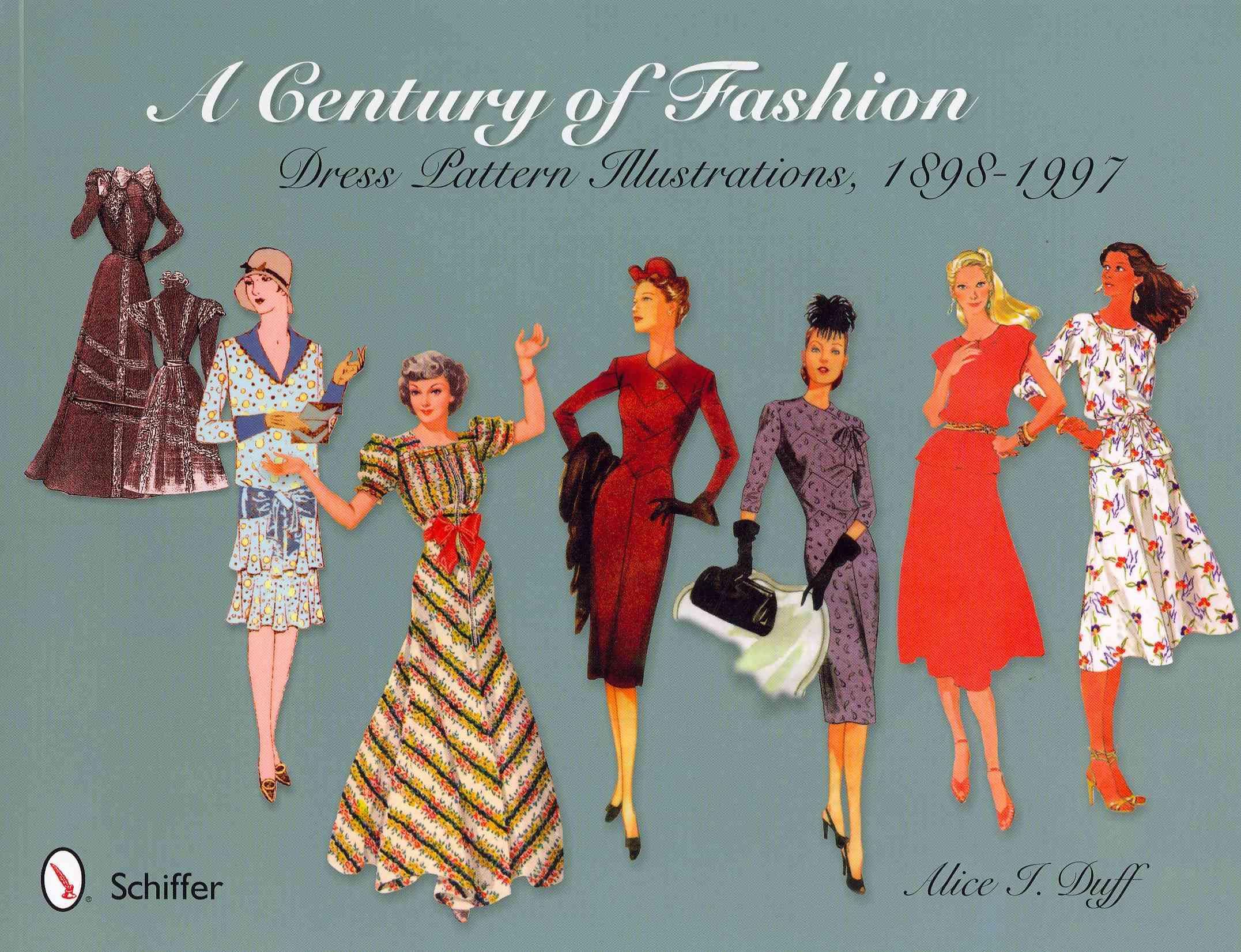A Century of Fashion: Dress Pattern Illustrations, 1898-1997 (Paperback)