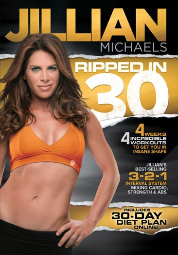 Jillian Michaels Ripped In 30 (DVD)