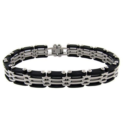 Gemeni Stainless Steel Men's Bracelet