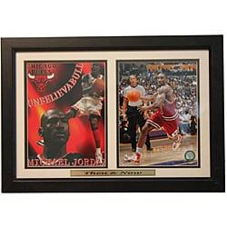 'Then and Now' Chicago Bulls Ben Gordon/ Michael Jordan Framed Photo
