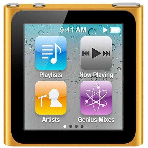 Shop Apple iPod nano 16GB Orange 6th Generation ...