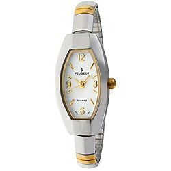 Peugeot Women's Two-tone Oval Expansion Watch