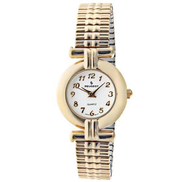 Peugeot Women's Goldtone Brass Expansion Watch