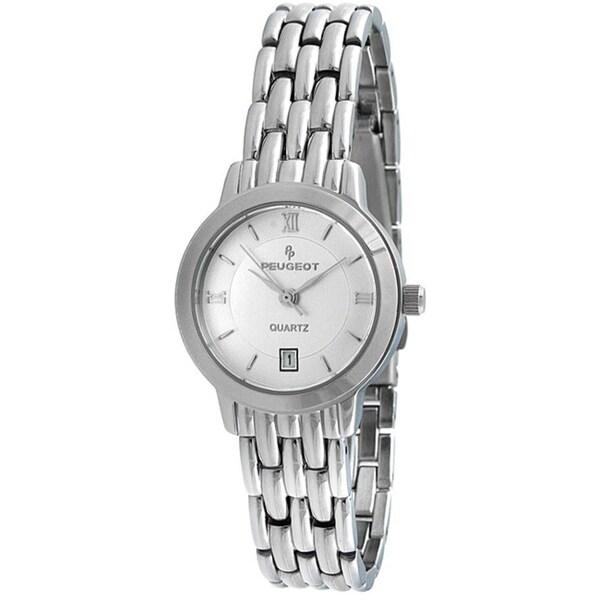 Peugeot Women's Silvertone Watch