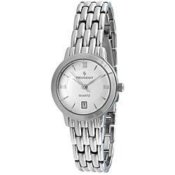 Peugeot Women's Silvertone Watch https://ak1.ostkcdn.com/images/products/5535787/Peugeot-Womens-Silvertone-Watch-P13312611.jpg?impolicy=medium
