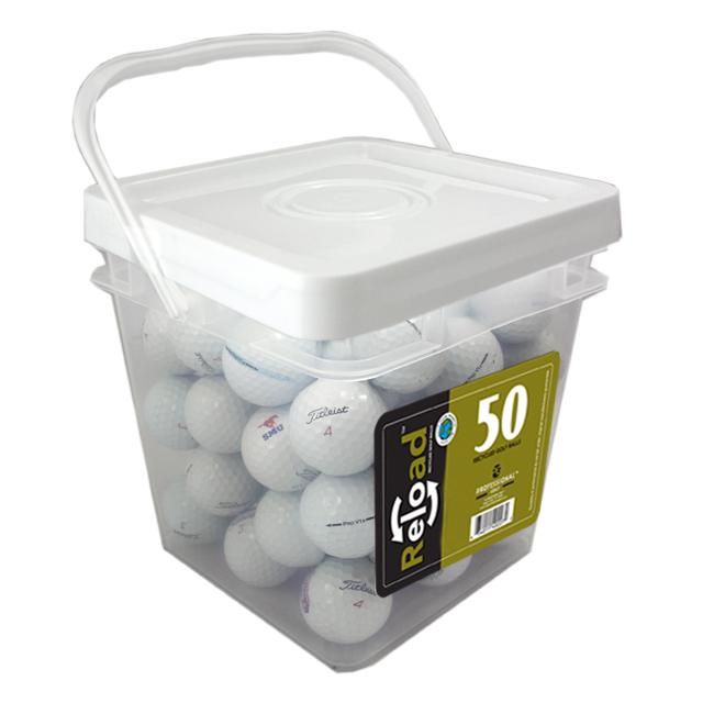 Titleist PROV1X 50-count Recycled Golf Balls