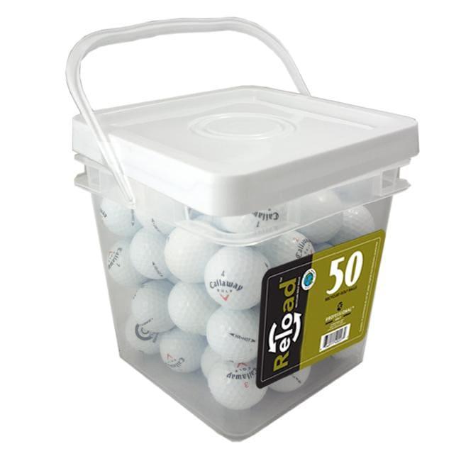 Callaway HX Hot 50-count Recycled Golf Balls