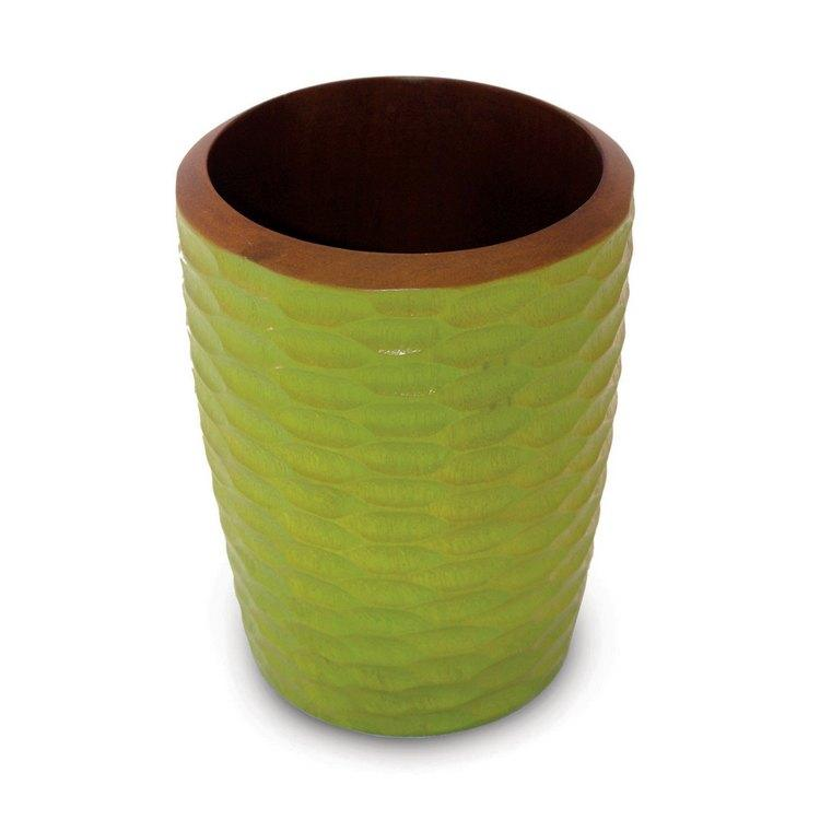 Mango Wood Avocado Utensil Vase (Thailand)