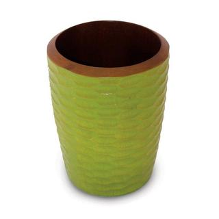 Handmade Mango Wood Avocado Utensil Vase (Thailand)