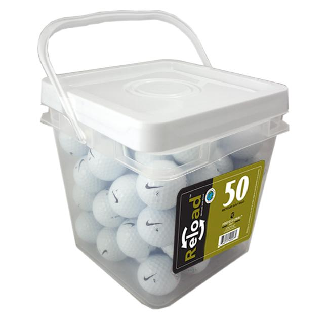 Nike Power Series Mix 50-count Recycled Golf Balls