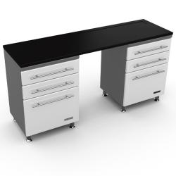 Ulti-Mate Storage Starfire 3-piece Desk-like Cabinet Kit