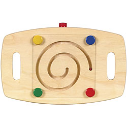 Guidecraft Marble Tilting Maze Balance Base Wooden Learning Toy