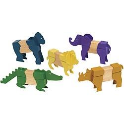 Block Mates Safari Animals