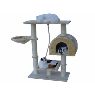 Go Pet Club 36-inch Cat Tree Condo Furniture