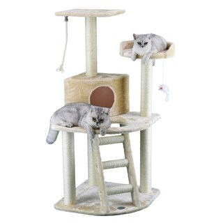 GoPetClub 48-inch Cat Tree House