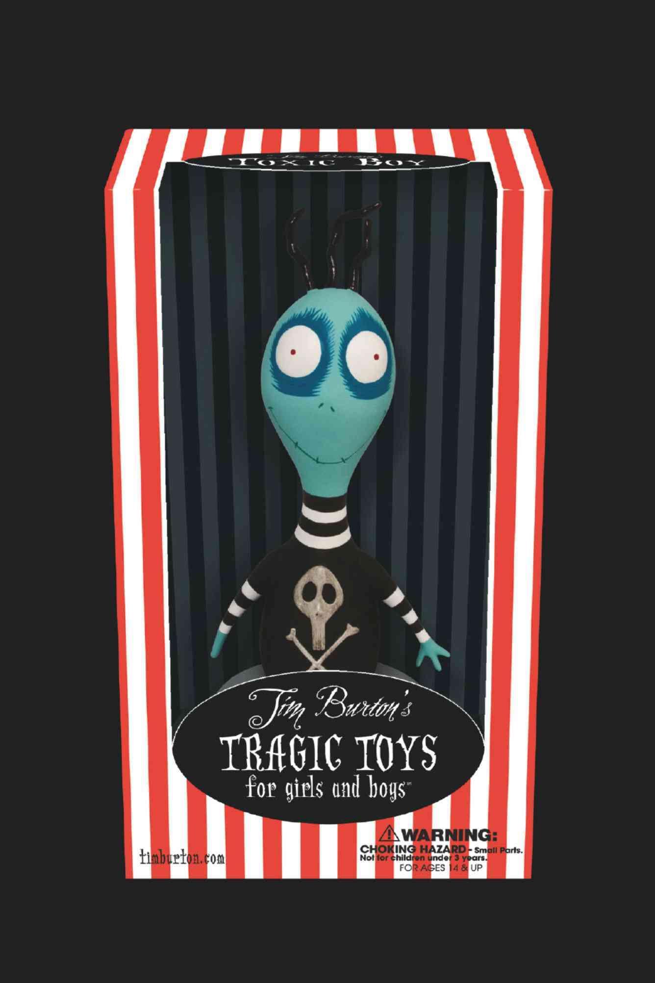 Tim Burton's Toxic Boy Vinyl Figure