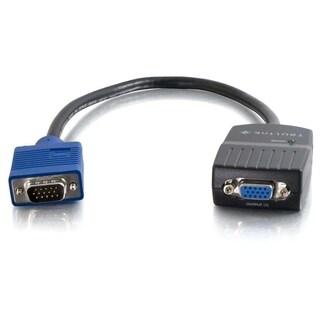 C2G 11in TruLink 2-Port UXGA Monitor Splitter Cable