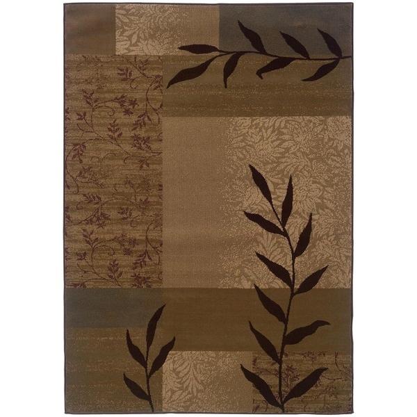 Gold Geometric Rug (8'2 x 10')